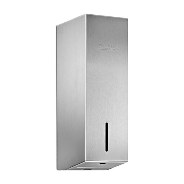 Wagner-Ewar A-Line sensor disinfectant dispenser brushed stainless steel