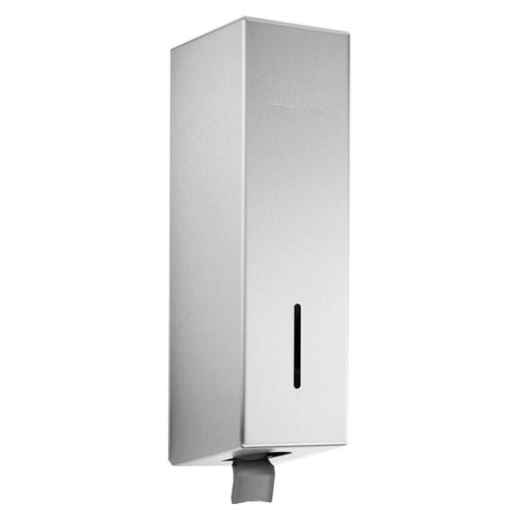 Wagner-Ewar H-Line soap dispenser brushed stainless steel, with soap bottle