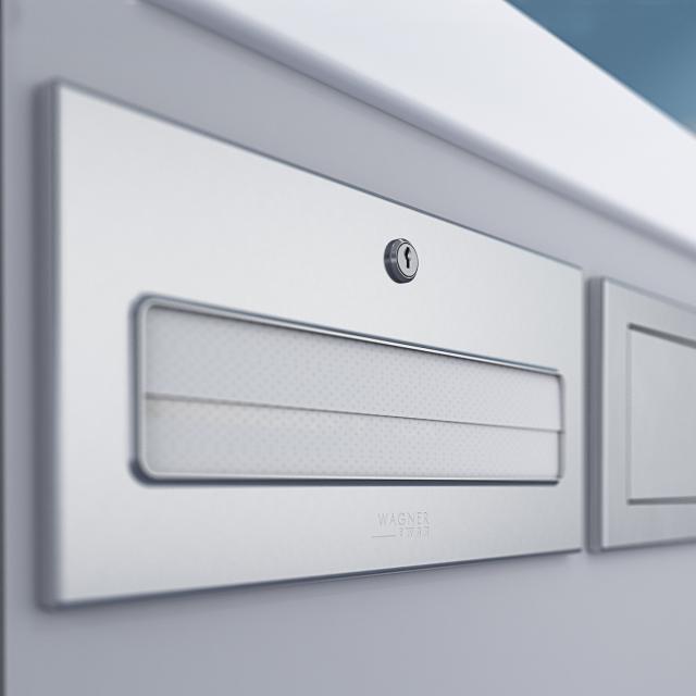 Wagner-Ewar A-Line undercounter paper towel dispenser brushed stainless steel