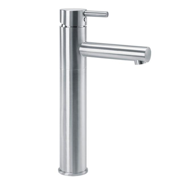 Wagner Ewar A-Line washbasin fitting WA210 for low pressure brushed stainless steel