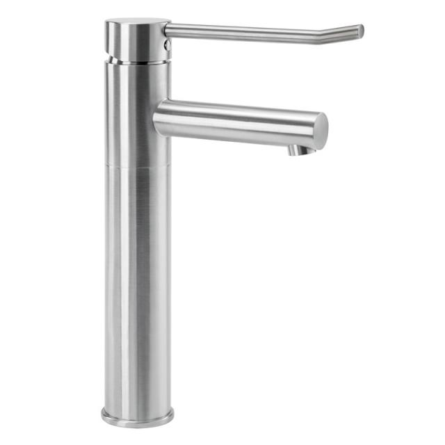 Wagner Ewar A-Line washbasin fitting WA210-1 for low pressure brushed stainless steel