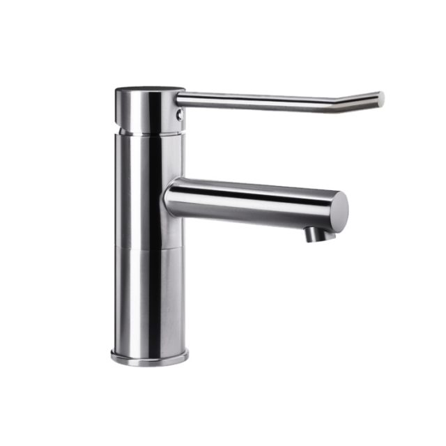 Wagner-Ewar A-Line washbasin fitting WA 100-1 without waste set, high gloss polished stainless steel