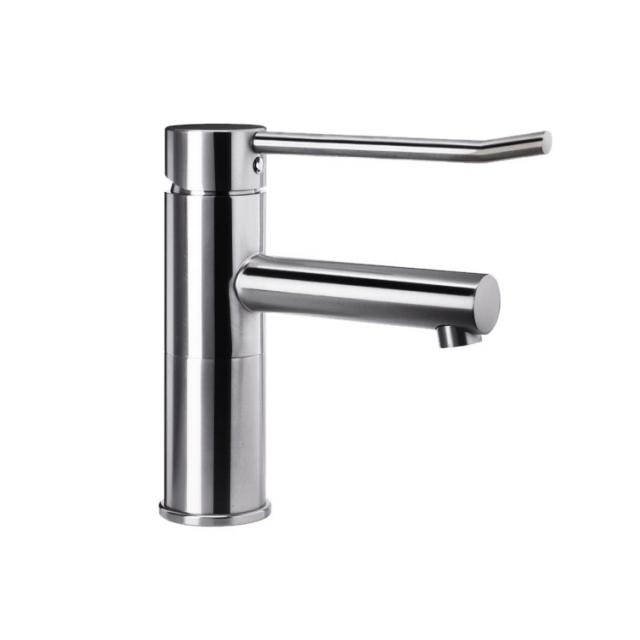 Wagner-Ewar A-Line washbasin fitting WA 200-1 for low pressure without waste set, brushed stainless steel