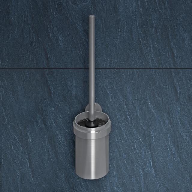Wagner-Ewar AC toilet brush set brushed stainless steel