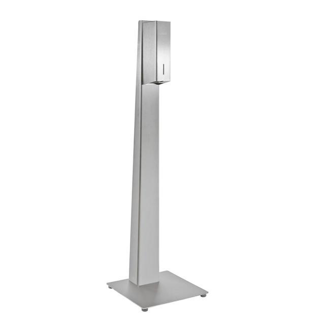 Wagner-Ewar P-Line freestanding hygiene station with sensor-operated disinfectant dispenser, floorstanding