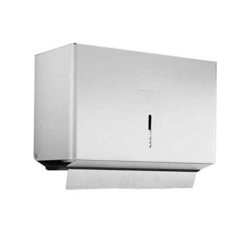 Wagner-Ewar P-Line paper towel dispenser brushed stainless steel