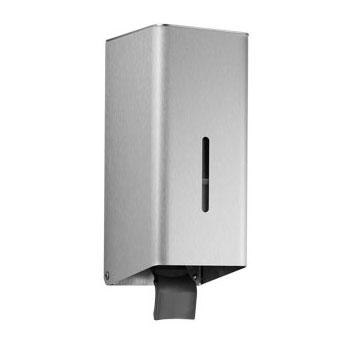 Wagner-Ewar P-Line soap dispenser with built-in tank brushed stainless steel, without lock