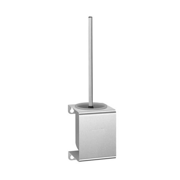 Wagner-Ewar P-Line toilet brush set brushed stainless steel