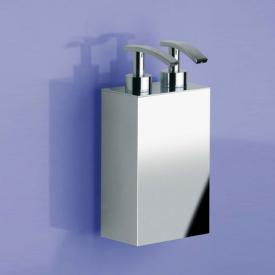 WINDISCH Box Metal Lineal wall-mounted double soap dispenser chrome