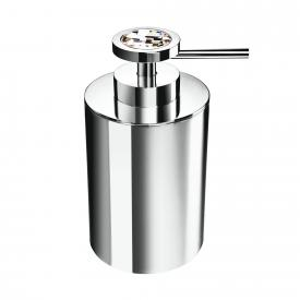 WINDISCH Moon Light Round soap dispenser chrome/clear