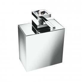WINDISCH Moon Light Square soap dispenser chrome/clear