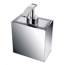 WINDISCH Shine Light Square soap dispenser chrome/clear