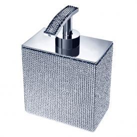 WINDISCH Star Light Square soap dispenser chrome/clear