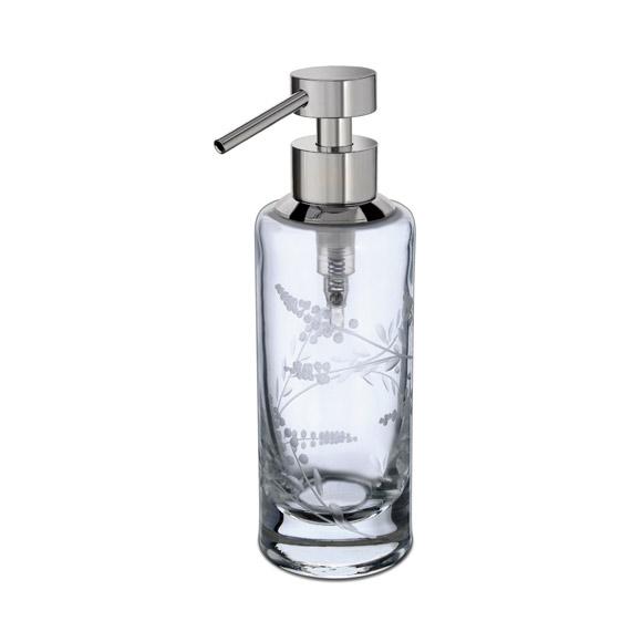 WINDISCH Barocco soap dispenser chrome/clear