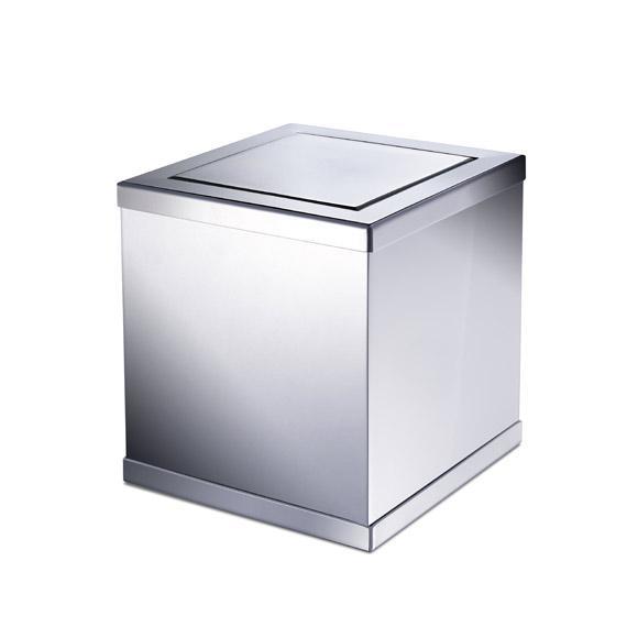 WINDISCH Box Metal bathroom bin chrome