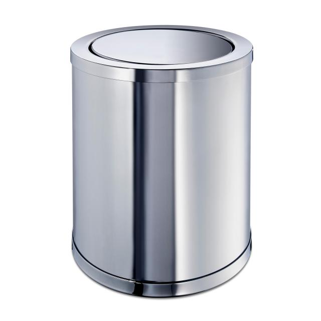 WINDISCH Cylinder Plain bathroom bin chrome