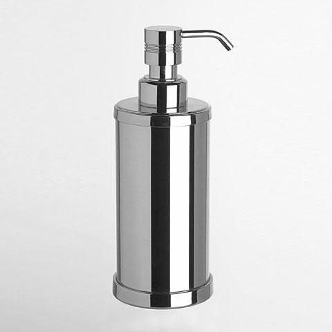WINDISCH Cylinder Ribbet soap dispenser chrome