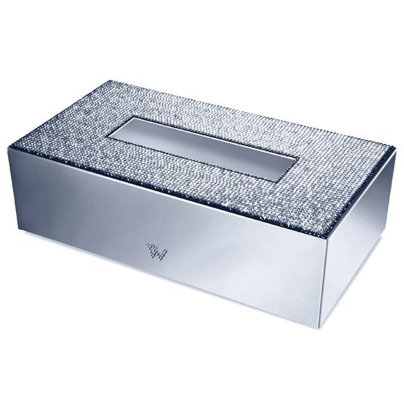 WINDISCH Star Light Square kleenex box chrome