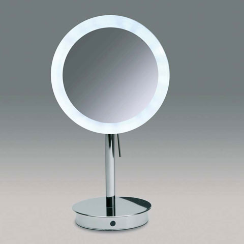 WINDISCH Universal freestanding beauty mirror, with LED and sensor