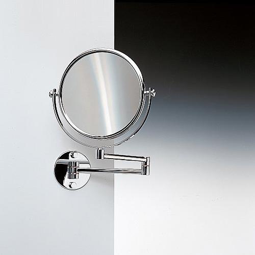 WINDISCH Universal wall-mounted beauty mirror chrome