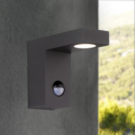 Wofi Brooklyn LED wall light with motion sensor