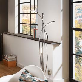 Wofi Hampton LED floor lamp with dimmer
