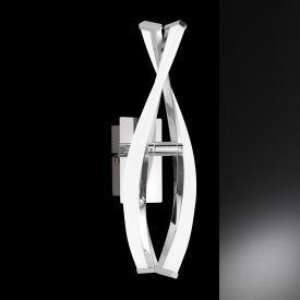 Wofi Idana LED wall light with dimmer