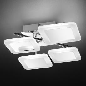 Wofi Impuls LED ceiling light 4 heads
