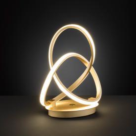 Wofi Indigo LED table lamp with dimmer