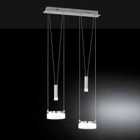 Wofi Jette LED pendant light 4 heads