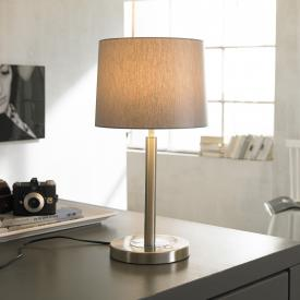 Wofi Toulouse LED table lamp with dimmer