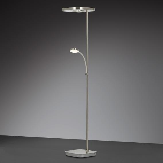 Wofi Etana Floor Lamp With Dimmer And, Floor Lamp With Dimmer Switch And Adjustable Arm