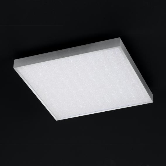 Wofi Glam LED square ceiling light with dimmer