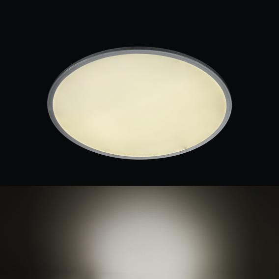 Wofi Linox LED ceiling light with dimmer