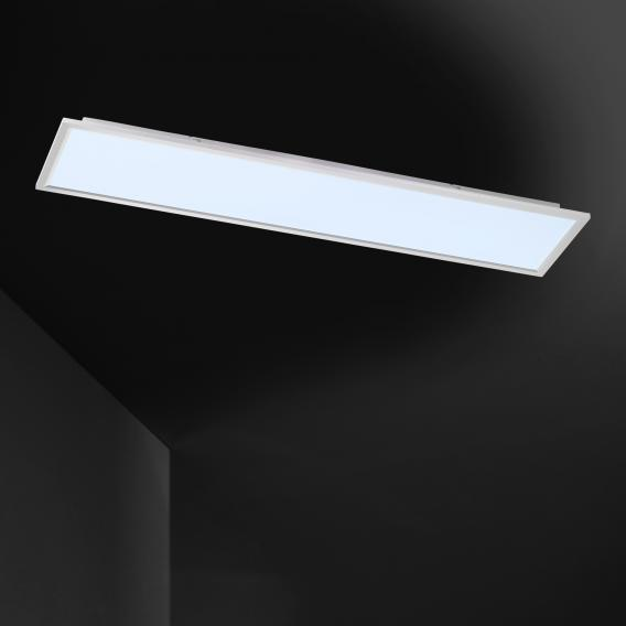 Wofi Liv LED ceiling light with dimmer adjustable colour temperature