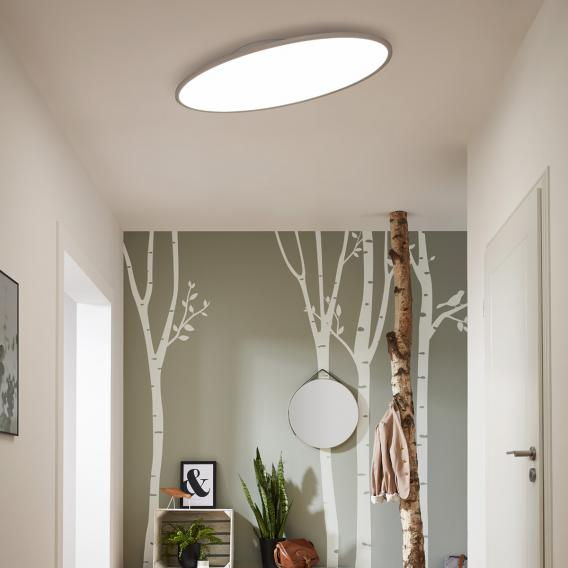Wofi Valley LED ceiling light with dimmer, adjustable colour temperature
