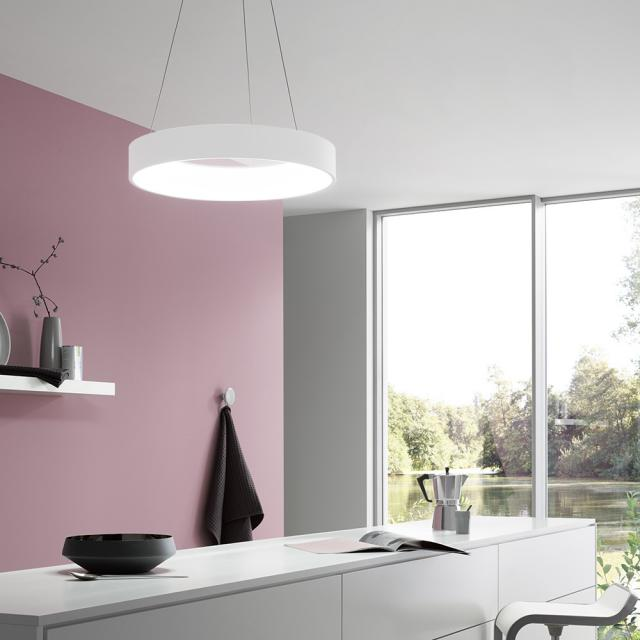 wofi Cameron LED pendant light with dimmer and CCT