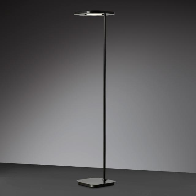wofi Etana floor lamp with dimmer and adjustable colour temperature, 2 heads