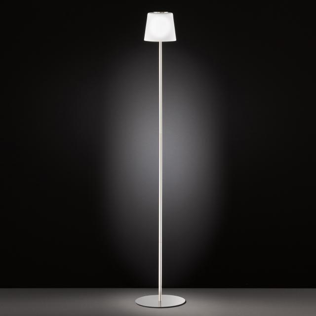 wofi Genk USB LED floor lamp with dimmer