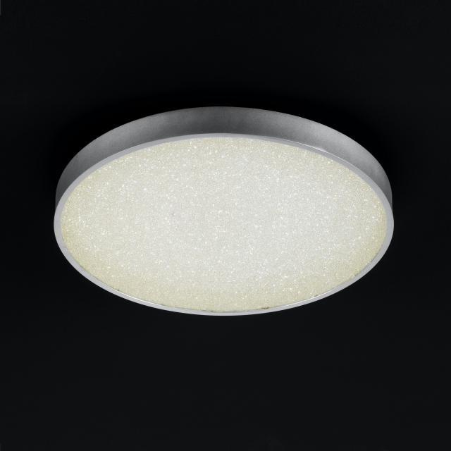 wofi Glam LED round ceiling light with dimmer