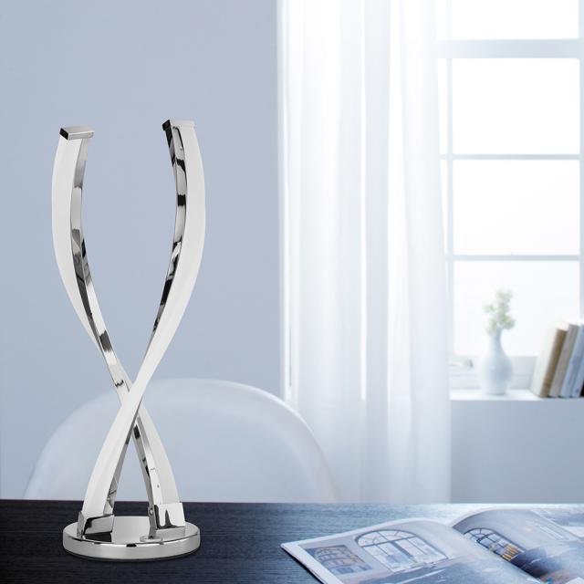 wofi Idana LED table lamp with dimmer