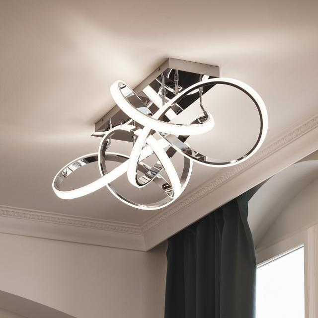 wofi Indigo LED ceiling light, elongated