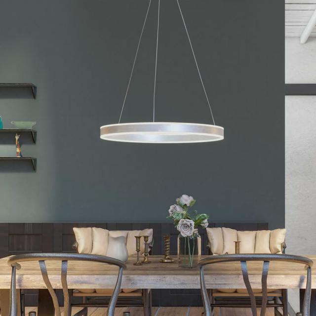 wofi Lena/Series 875 LED pendant light, 3 heads