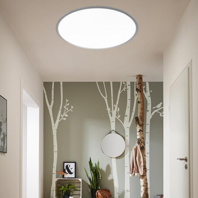 wofi Linox RGBW LED ceiling light with dimmer