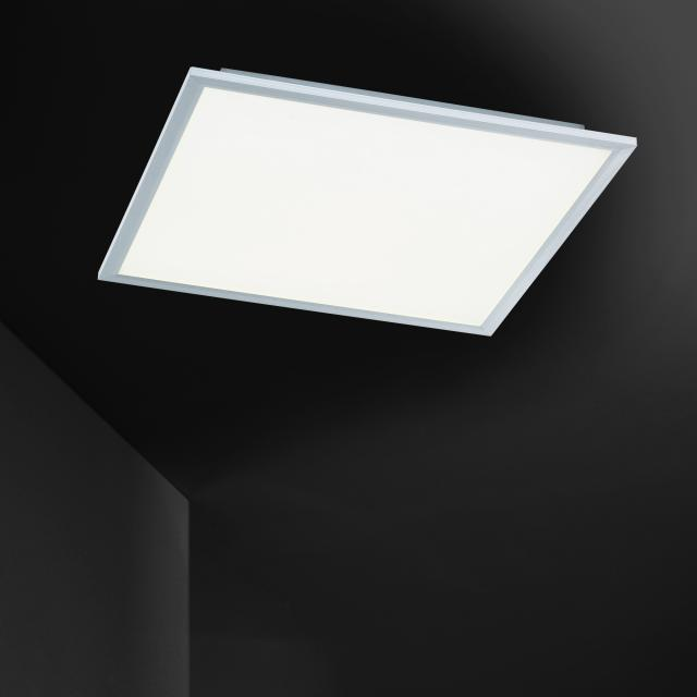 wofi Liv LED ceiling light with dimmer