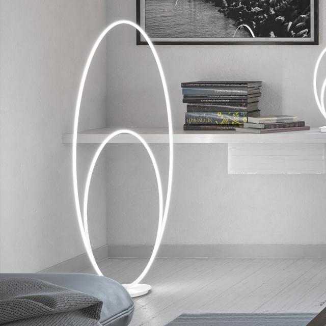 wofi Nia LED floor lamp with dimmer