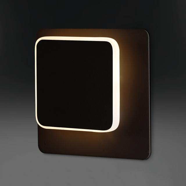 wofi Sutter/Series 785 LED wall light, rectangular