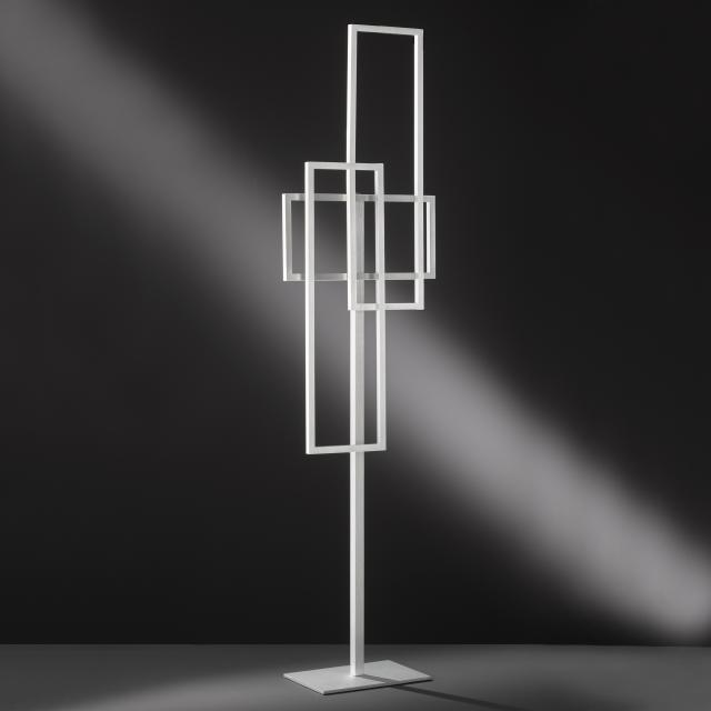 wofi Zenit/Series 473 LED floor lamp with dimmer