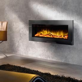 Wodtke feel the flame No. 1 prime electric fireplace with black decorative trim