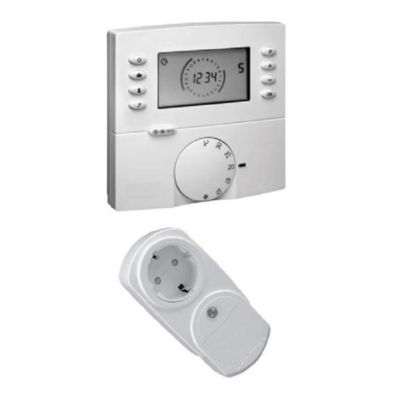 Wodtke feel warm wireless thermostat set with wireless adapter plug